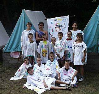 tábor světlušek a vlčat 2001 - Uragan Zbraslav