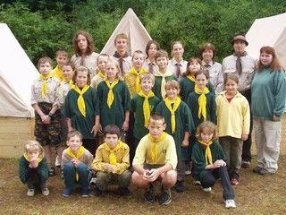 tábor světlušek a vlčat 2004 - Uragan Zbraslav