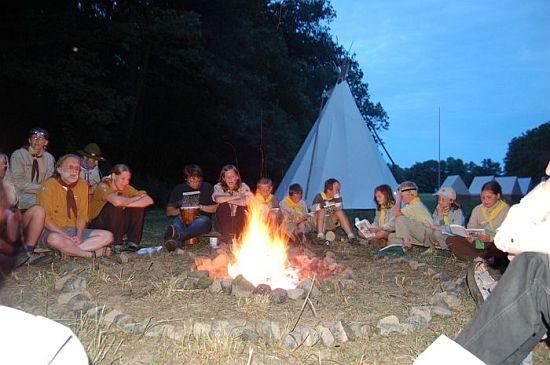 tábor světlušek a vlčat 2007 - Uragan Zbraslav
