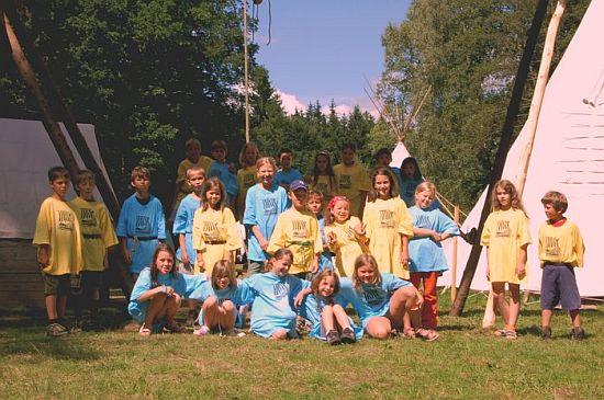 tábor světlušek a vlčat 2008 - Uragan Zbraslav