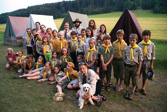 tábor světlušek a vlčat 2009 - Uragan Zbraslav