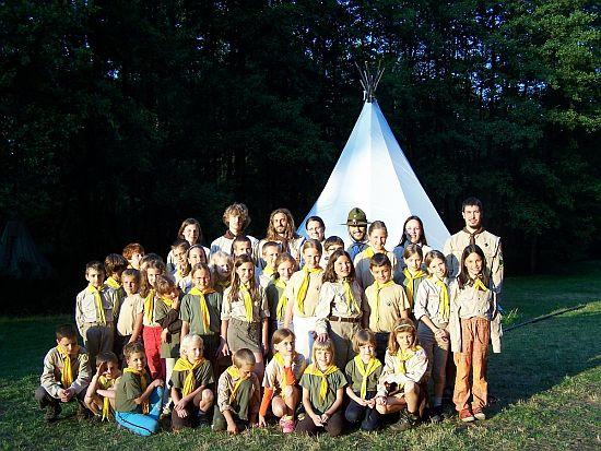 tábor světlušek a vlčat 2010 - Uragan Zbraslav