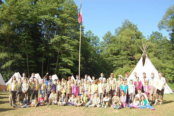 tábor světlušek a vlčat 2013 - Uragan Zbraslav